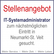 Stellenangebot | IT-Systemadministrator