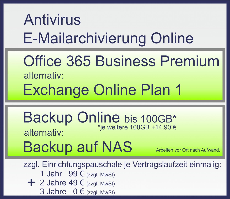 DSGVO Paket | Antivirus | Backup| Mettenheim
